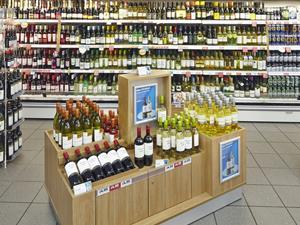 bargain booze store