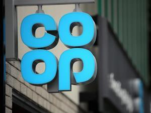 Co-op logo on store front