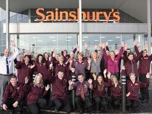 Sainsbury's staff
