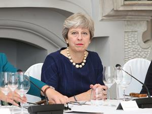 Theresa May credit needed