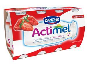 Actimel packaging