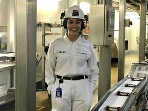 Carla Mendoza_a graduate engineer at Mars