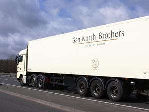 Samworth Bros lorry