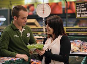 Tesco shopper fresh fruit veg salad