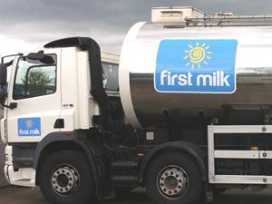 first milk nestle tanker