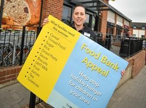 co-op summer food bank campaign