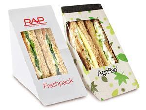 rap plastic free sandwich packaging