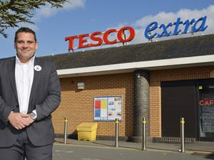 Tesco Mannings Heath Store of week