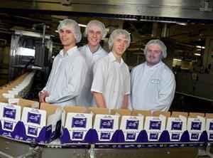 Mondelez Cadbury production line