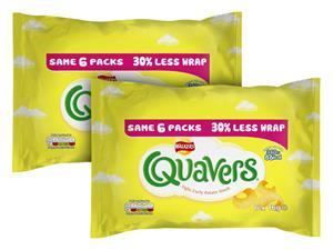 Quavers multipack from 2013