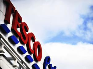 Tesco sign