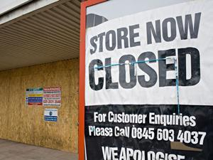 store now closed