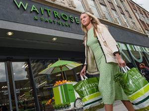 Waitrose plastic bags rebranded