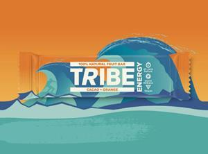 Tribe compostable pack, Cacao & Orange variant