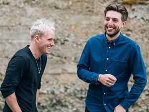 Jamie Laing and Ed Williams of Candy Kittens