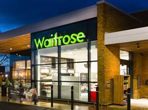Waitrose shop front web