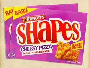 Malaysia: Pizza Flavoured Crackers