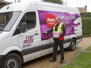 Argos fast track delivery