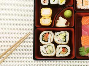sushi bento lunchbox