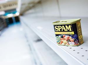Availability Spam empty shelves