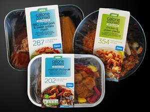 Asda Calorie Counted meals