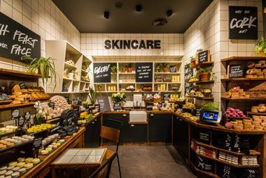 lush manchester plastic free store