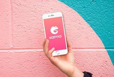 Karma app supermarkets