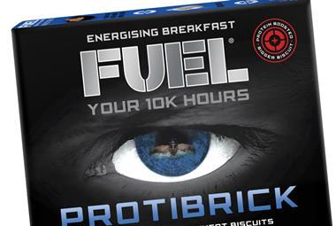 Protobrick cereal product