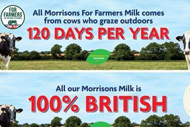 Morrisons Milk for Farmers POS