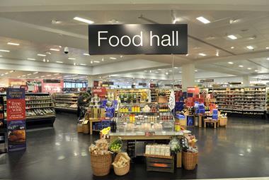 M&S Food Hall