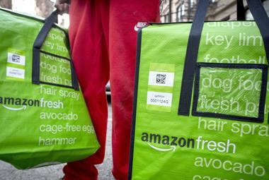 Amazon Fresh one use