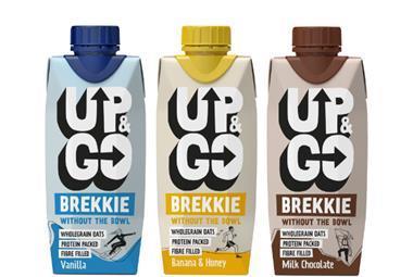 New UK look for Up&Go breakfast drink range
