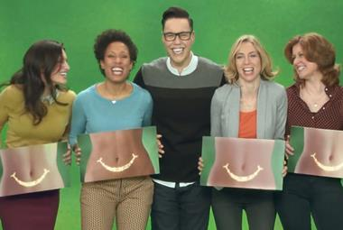 gok wan ad of the week activia