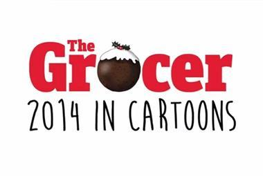 The Grocer 2014 in cartoons