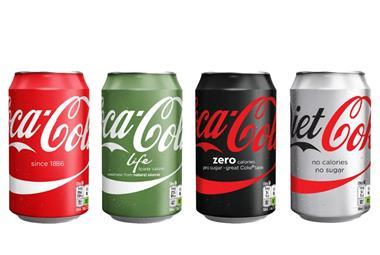 Coke one brand line up