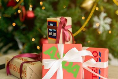supermarket christmas
