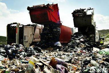 rubbish waste recycling tip dump