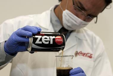 coca cola scientist one use