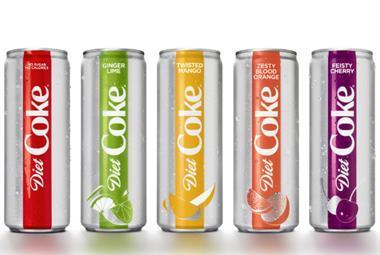 New Diet Coke range for the US - Jan 2018