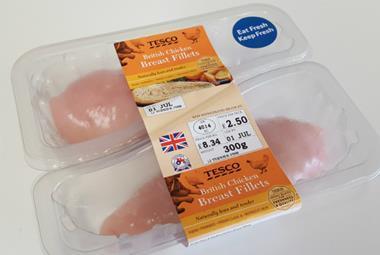Tesco chicken breast