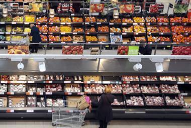 fruit and veg aisle one use