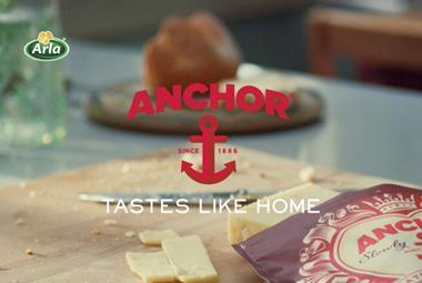 Anchor cheddar TV advert still