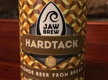 Jaw Brew's Hardtack beer made with bread