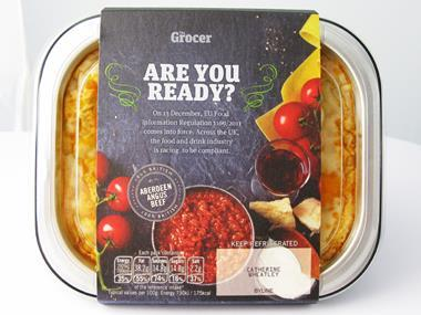 are you ready lasagne ready meal