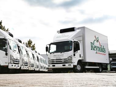 Reynolds lorry
