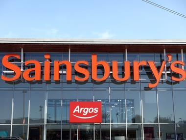 Sainsburys Store LED lighting