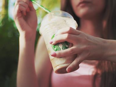 Coffee straw Starbucks