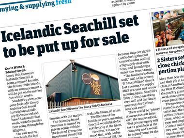 Seachill rag-out 15 April 2017