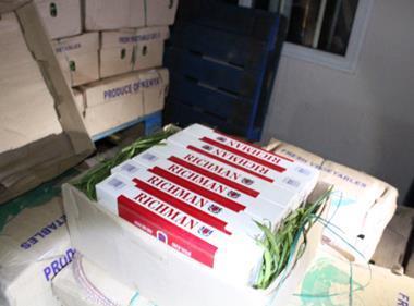 smuggled cigarettes tobacco HMRC