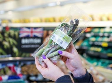 Morrisons Wonky asparagus